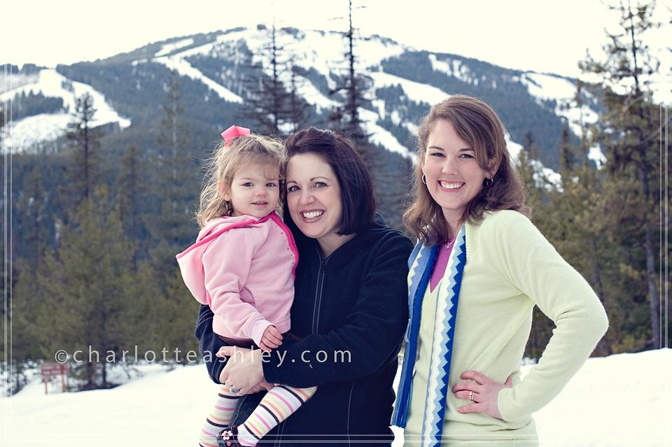 Us girls at Turner Mountain