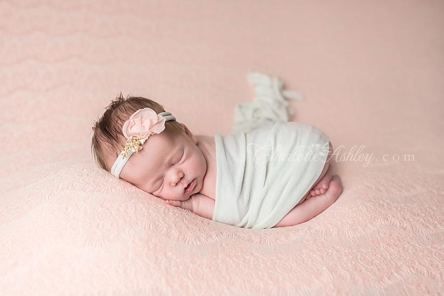 Alice | Lexington, SC In-Home Newborn Portrait Session